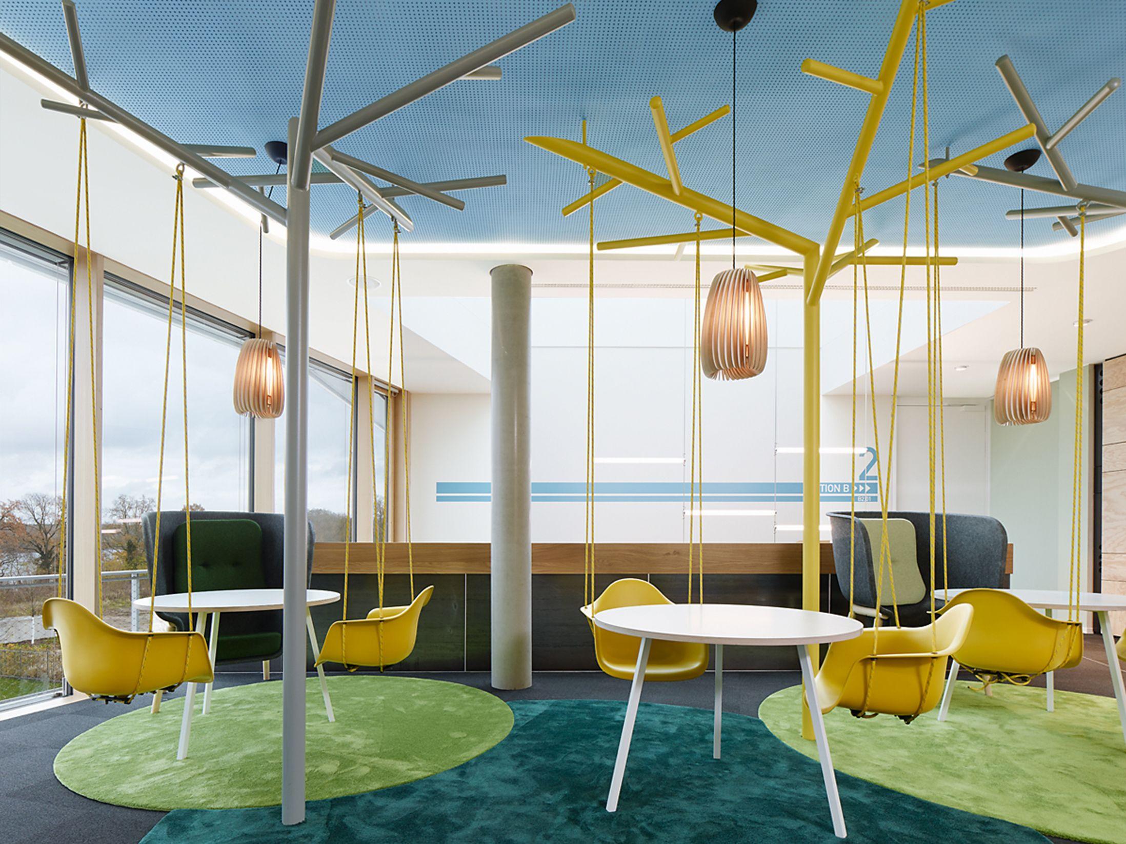 Teppich in unterschiedlicher Farbe zur Abgrenzung SAP Potsdam ...