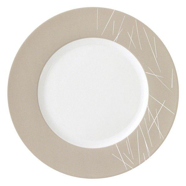 assiettes porcelaine assiette pr sentation ronde boreal. Black Bedroom Furniture Sets. Home Design Ideas