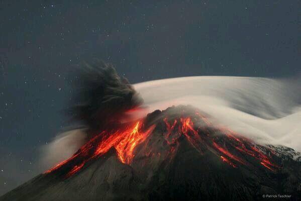 Volcán Tungurahua 2014.