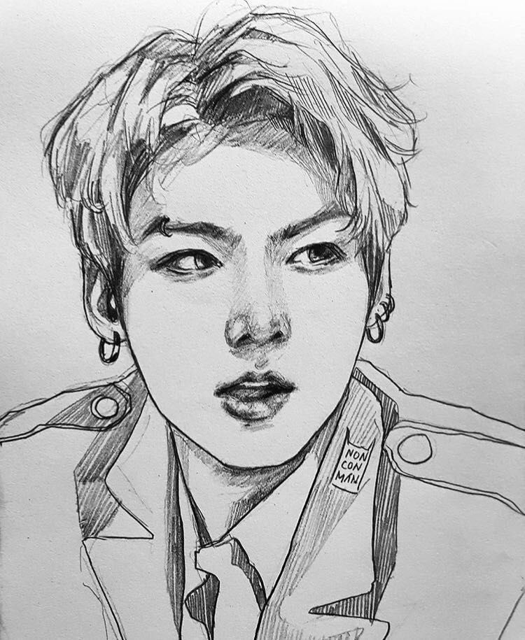 Blood Ink - 07: Client | [Drawing] | Bts drawings, Drawings