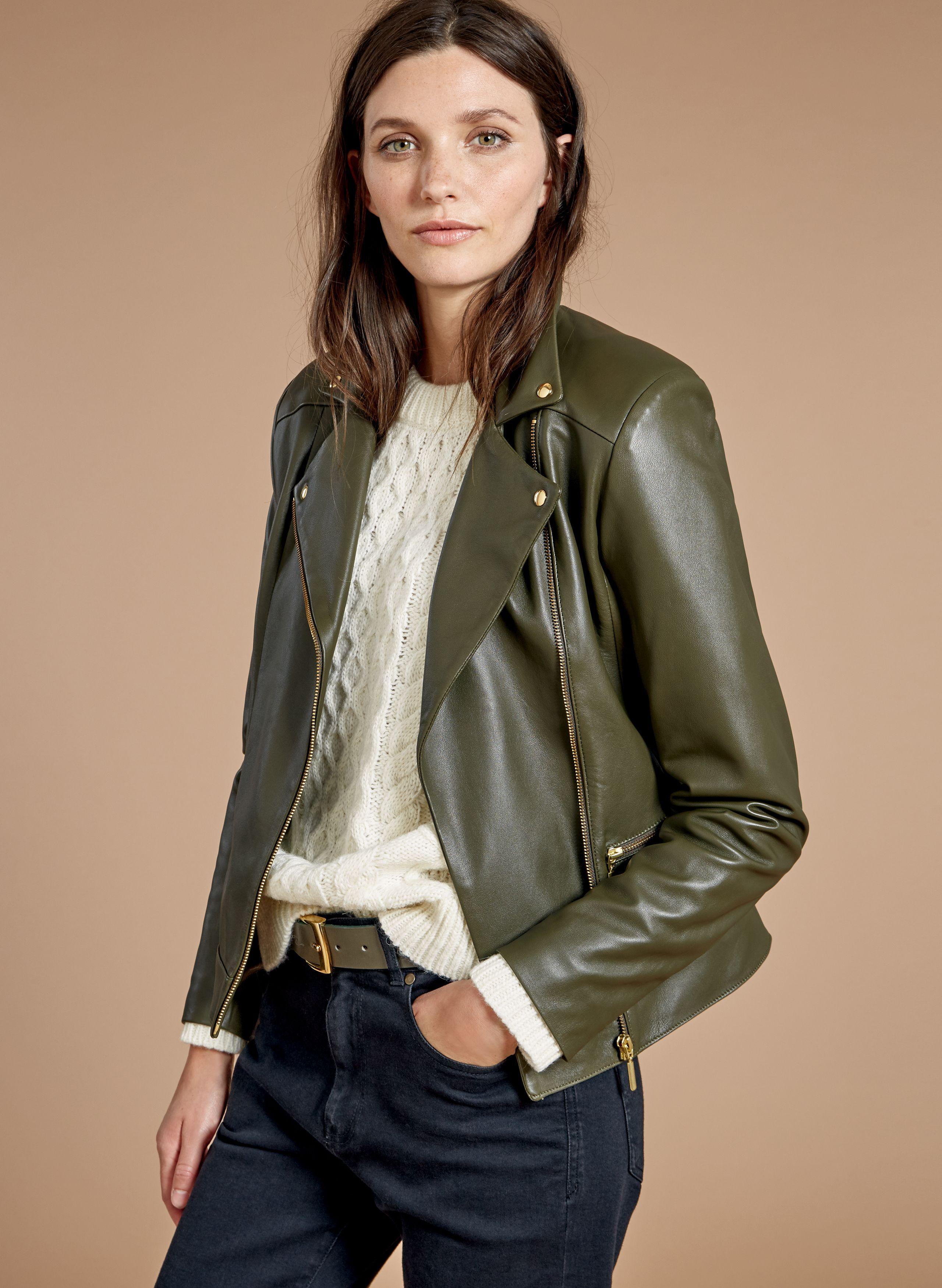 10c0eeaf8 Kara Leather Jacket in 2019   Baukjen AW18 Collection   Jackets ...