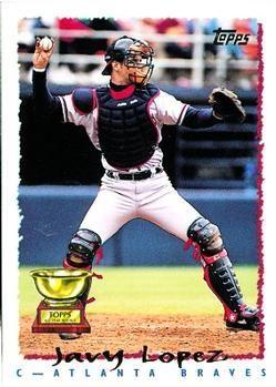 Brad Woodall Baseball Card #91 Base 1995 Topps -