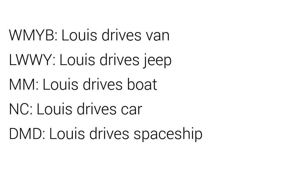 The thing is.. he always has to drive!   #DragMeDownMusicVideo #MTHottest One Direction