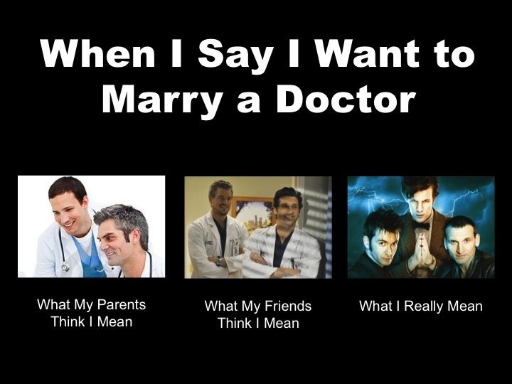 When I say I want to marry a Doctor    | Dr  Who | 10th
