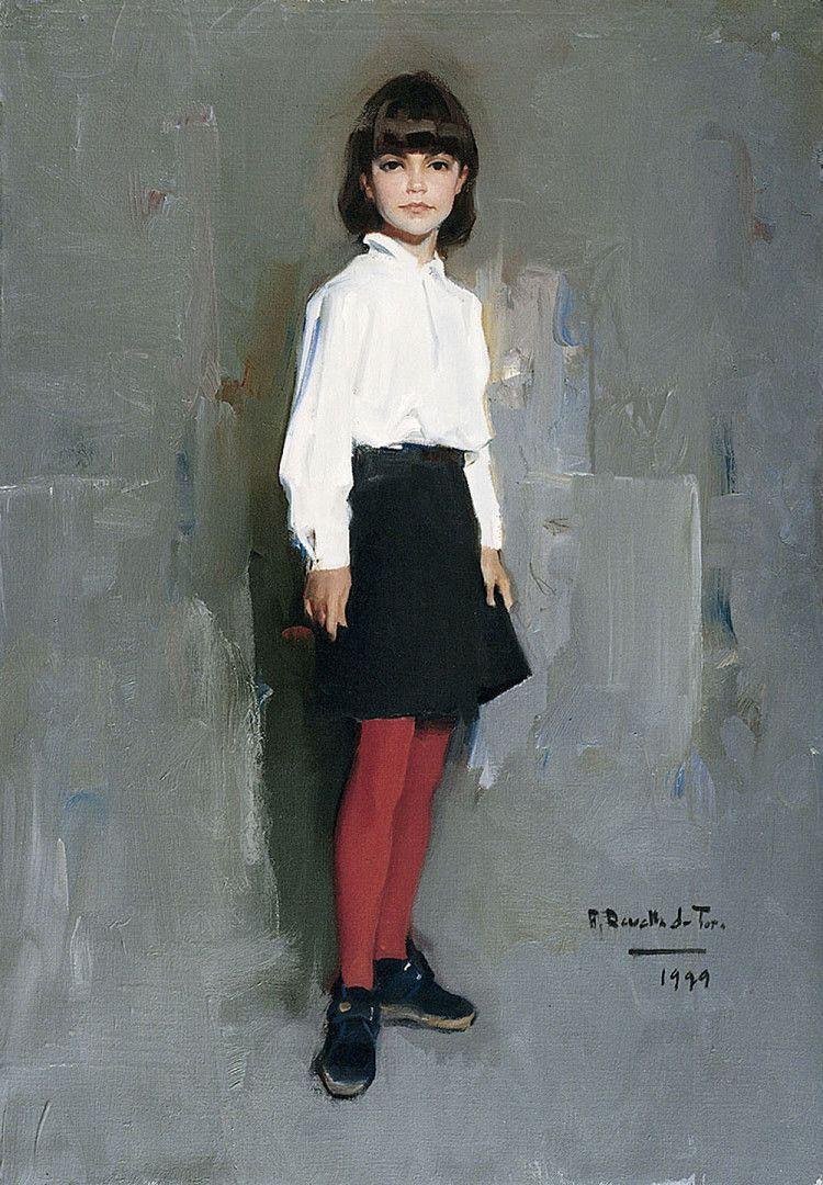 1999. La niña de las medias rojas MUSEO REVELLO DE TORO