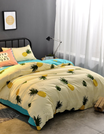 d57324989f92 100+ Pineapple Bedding Sets! We have tons of pineapple bedding
