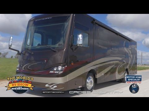 2015 Coachmen Sportscoach Cross Country Rv Review At Motor Home Specialist Cross Country Motorhome Country