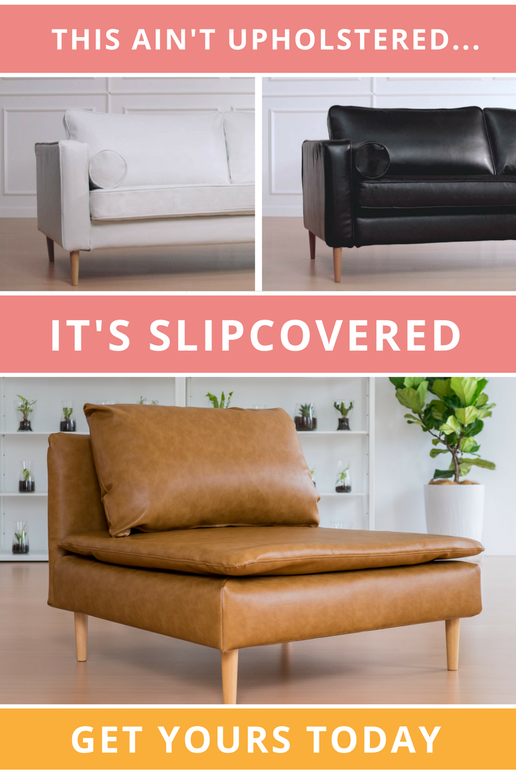 get a new leather sofa without having to re upholster with custom rh pinterest com