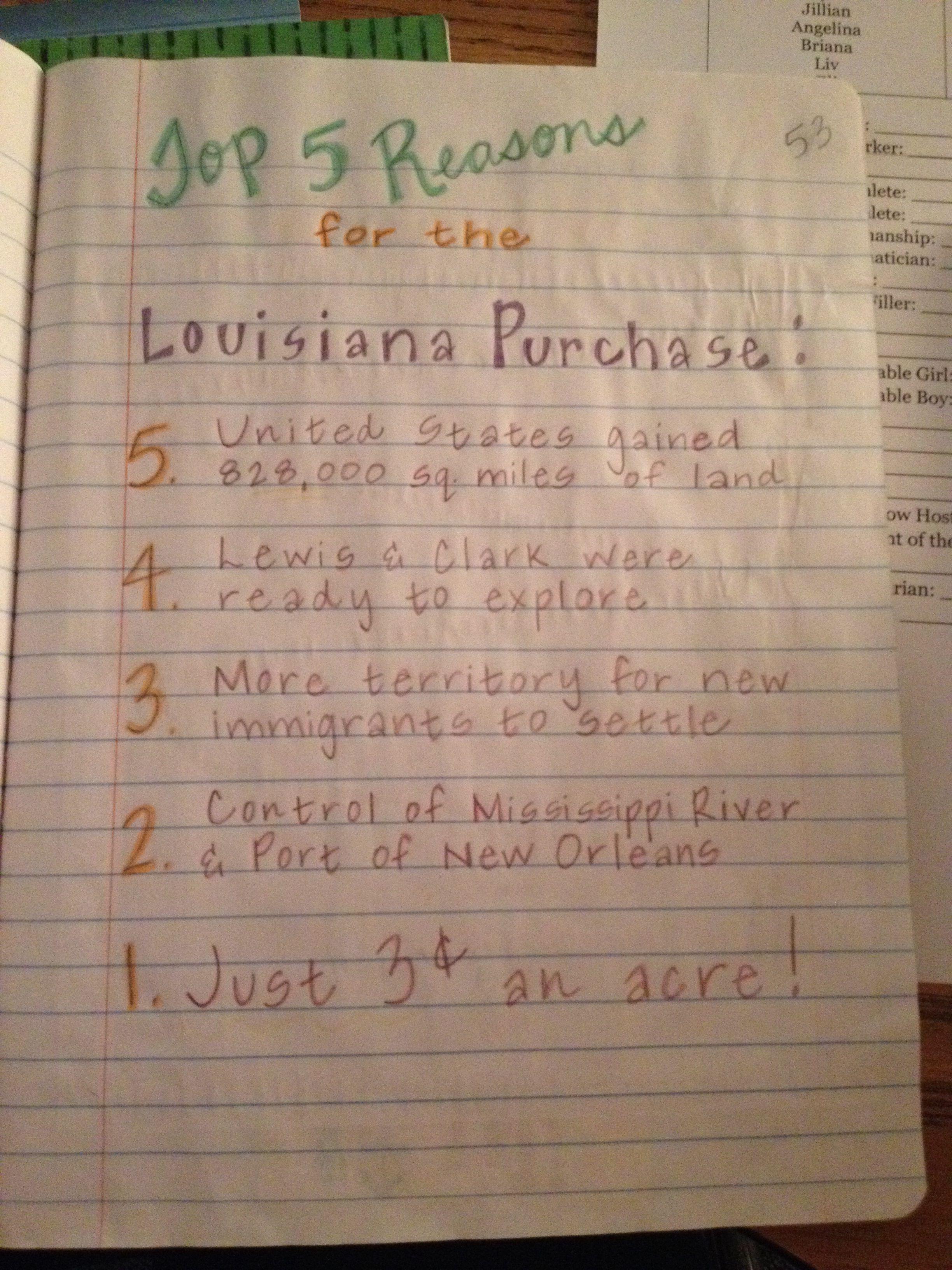 Louisiana purchase school pinterest louisiana purchase teacher louisiana purchase 1betcityfo Images