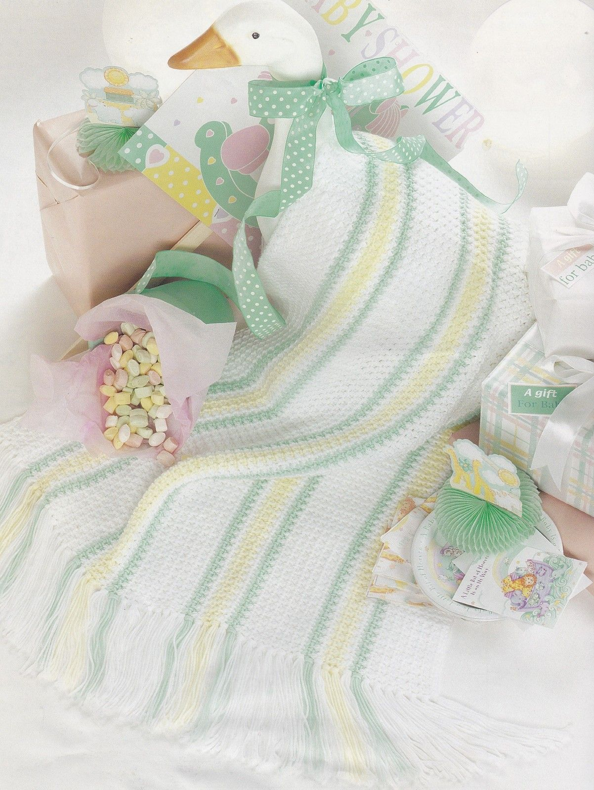 Snuggle-Up Baby Afghans, Leisure Arts Crochet Pattern Booklet 3205 - Dolls & Toys