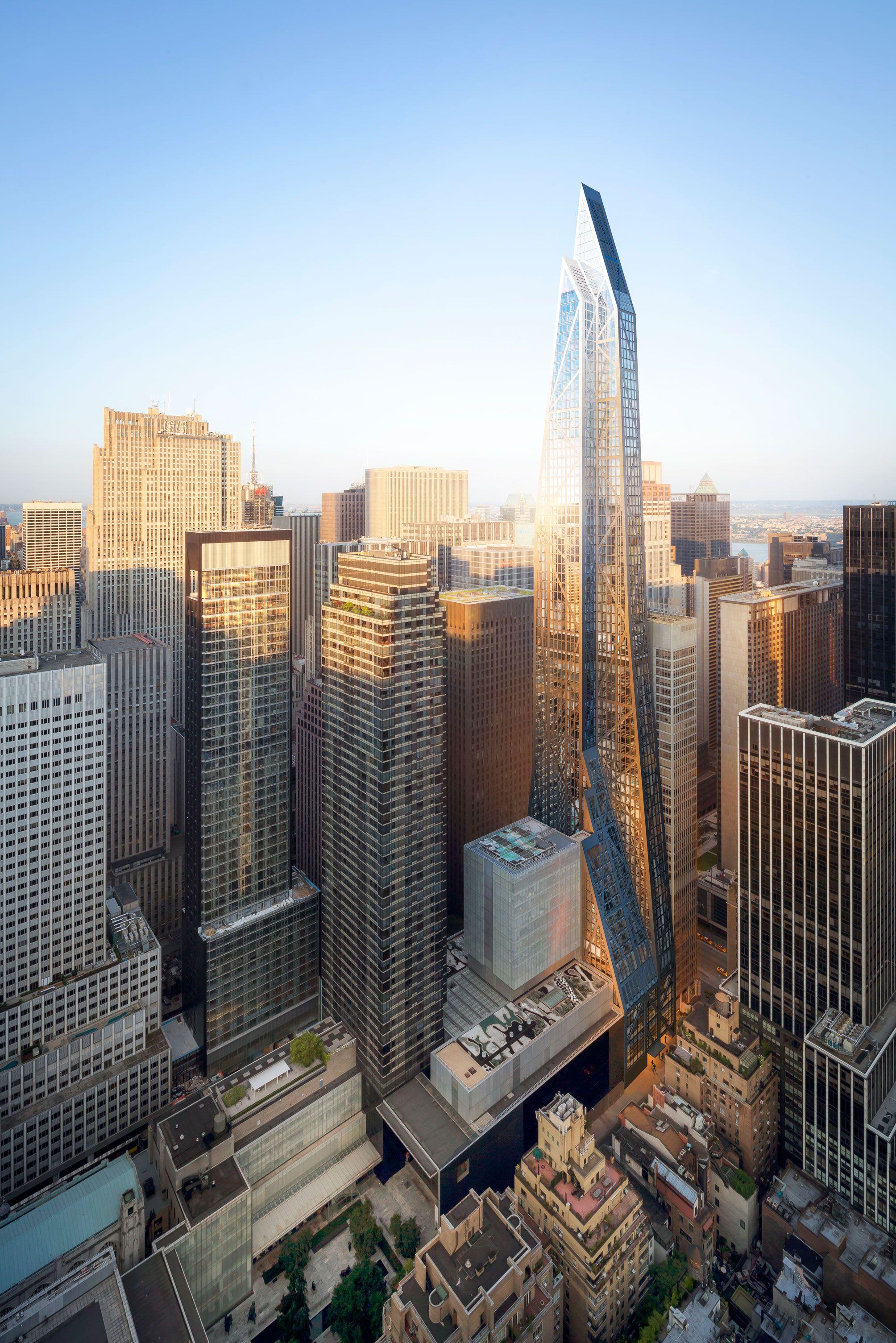 Hayes Davidson Skyscraper Architecture Buildings Skyscraper Architecture New York City Buildings