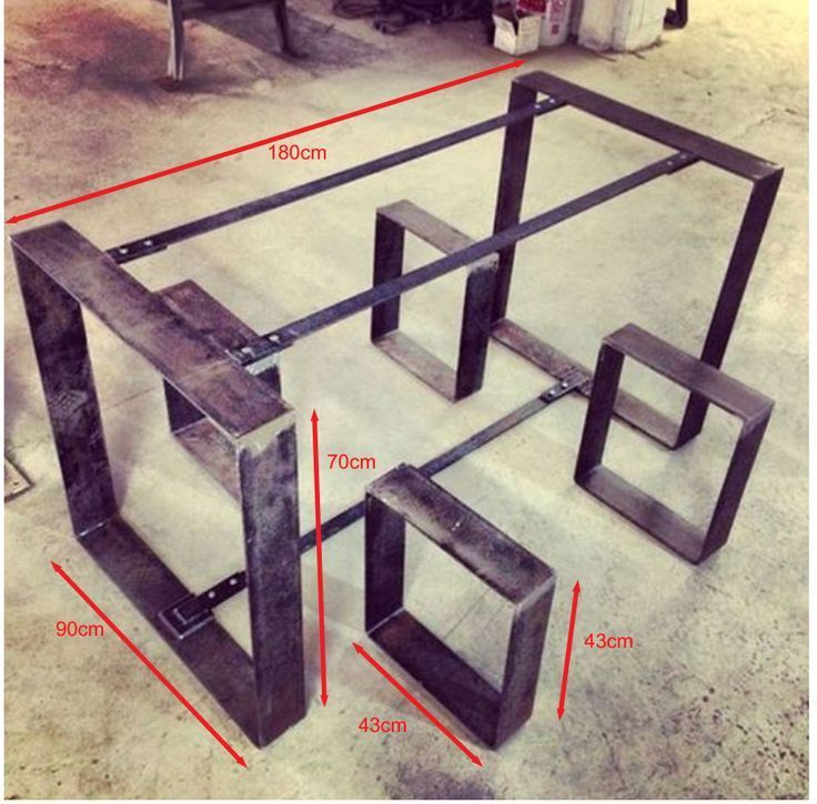 New welding art decoration is in process of making ...