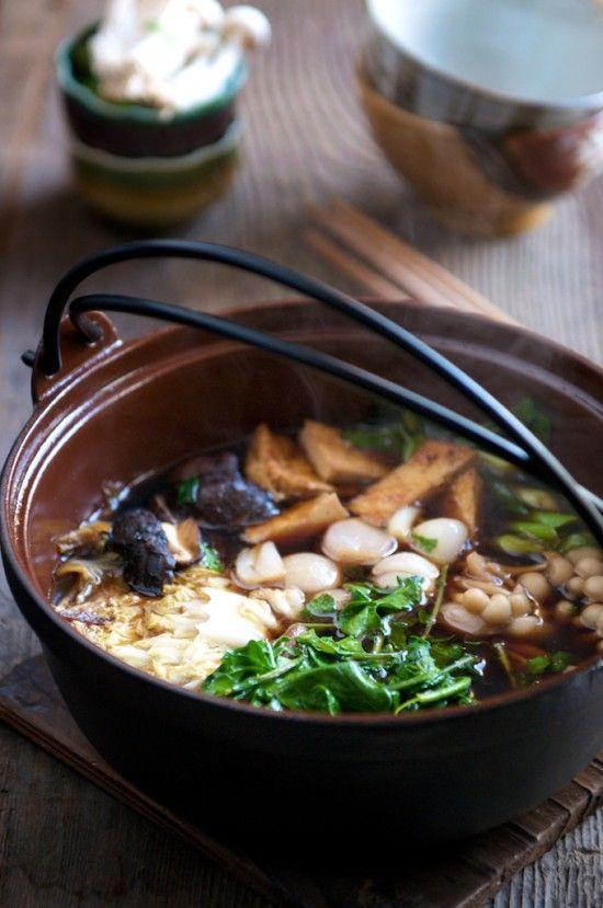 Japanese Hot Pot Recipe With Beef Sukiyaki Recipe Whiteonrice Couple Recipe Hot Pot Recipe Sukiyaki Recipe Beef Sukiyaki Recipe