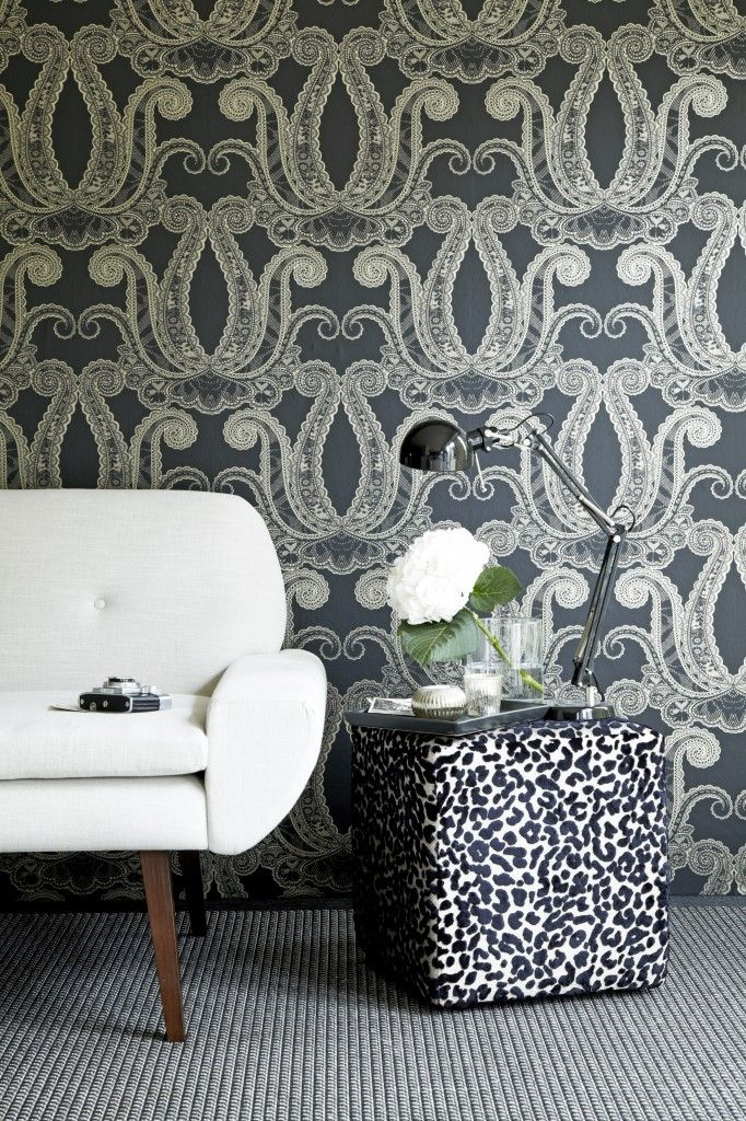 Yolande Jet From Clarke And Clarke Via Duralee With Images Home Decor Trends Trending Decor Home Decor