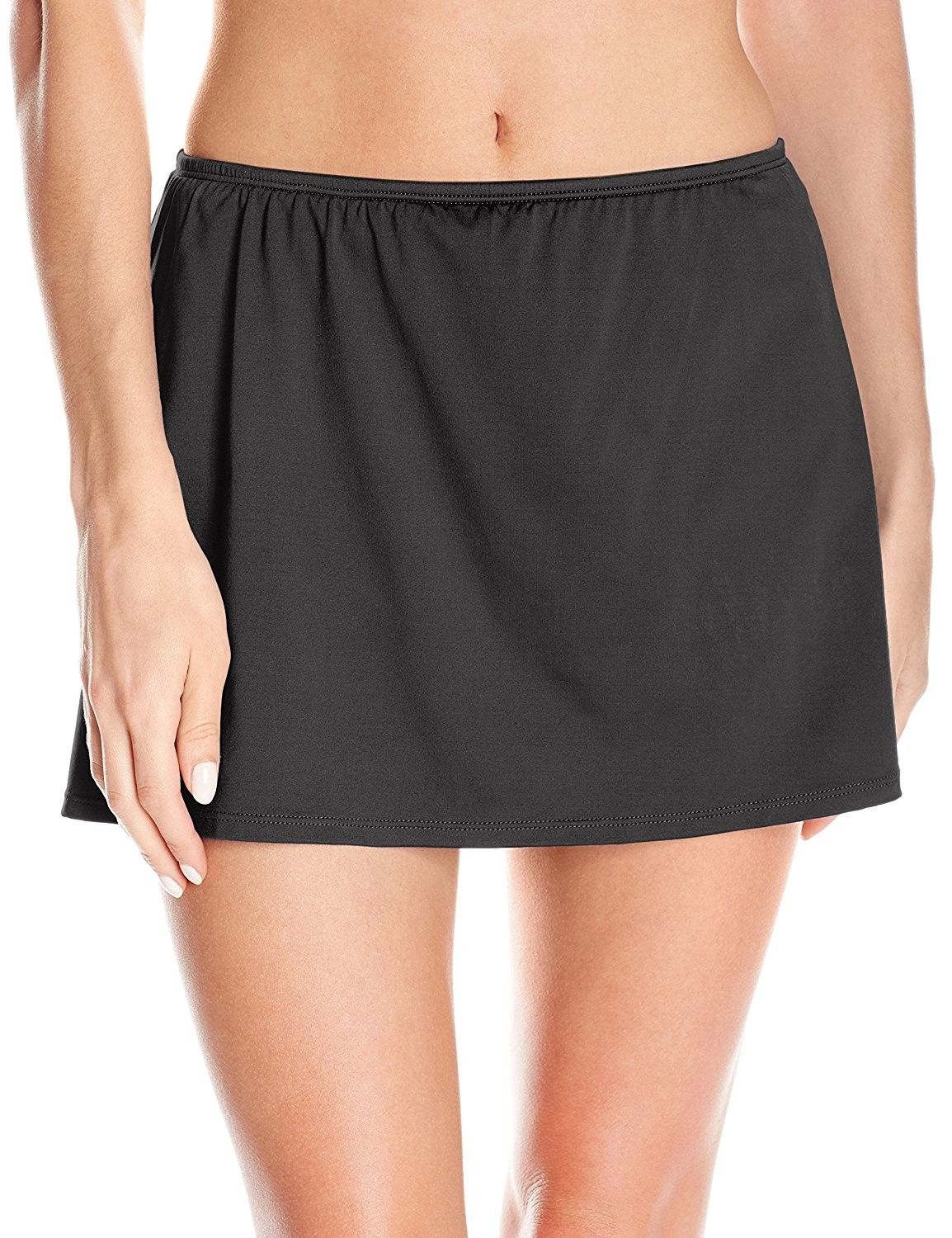 43ed34584f99c Women's Solid Skirted Bikini Bottom - Black - CW12MZUDPEH,Women's Clothing,  Swimsuits & Cover Ups, Tankinis #women #clothing #fashion #style #sexy  #outfits ...