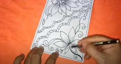 Cara Menggambar Batik Dibuku Gambar Yang Mudah Digambar
