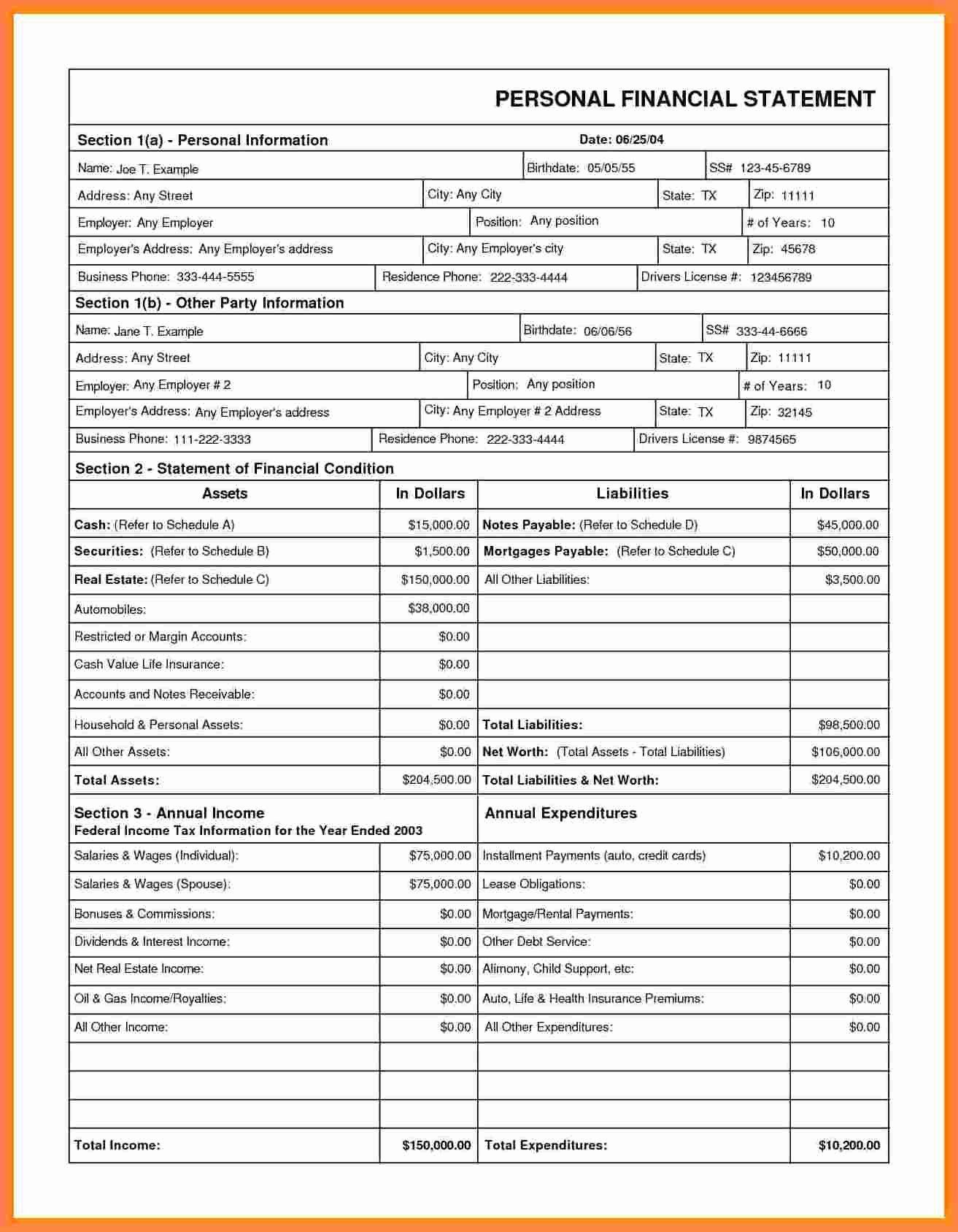 Total Compensation Statement Excel Template Free Smart With Credit Card Statement T Personal Financial Statement Credit Card Statement Balance Sheet Template