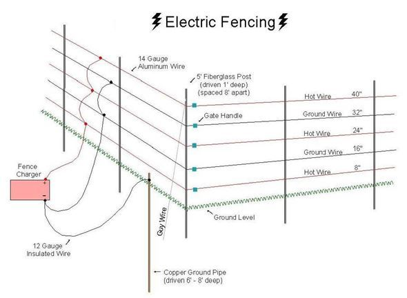 the advantages in using electric fence as your first line of rh pinterest com