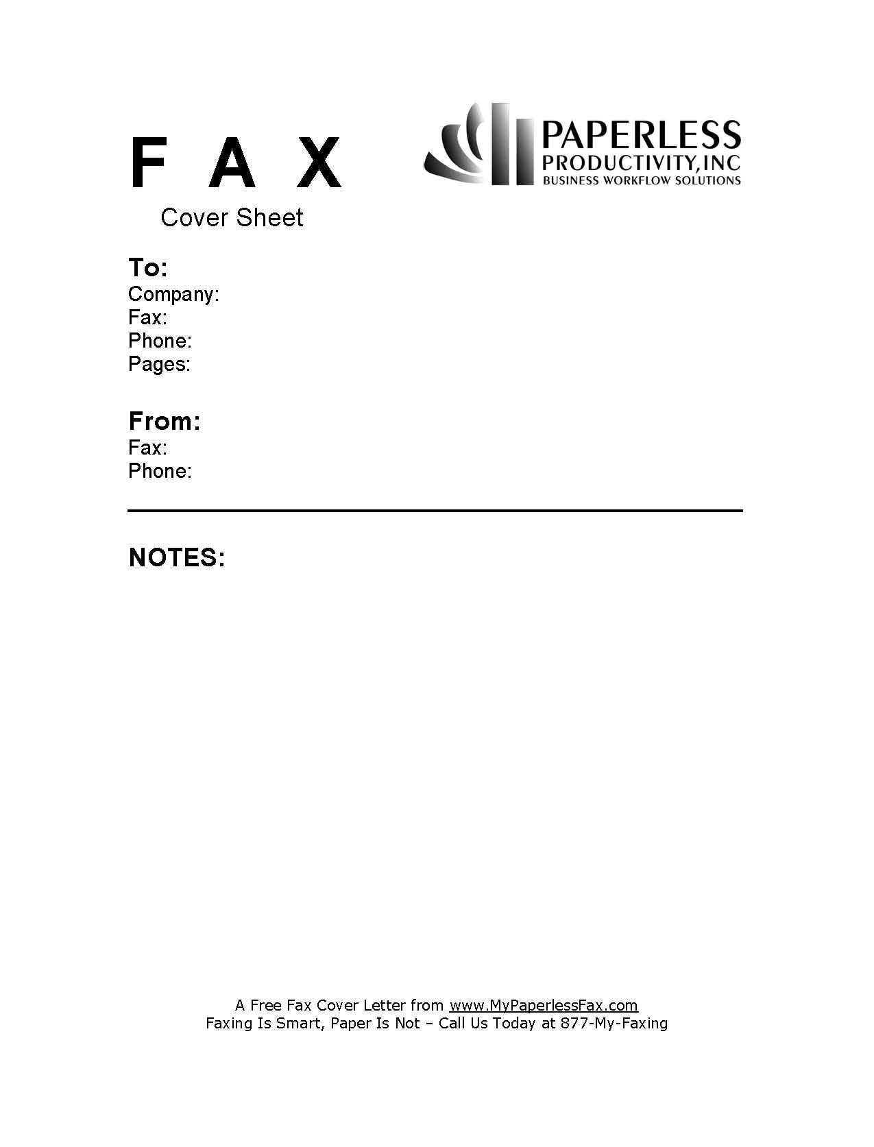 staples fax cover sheet