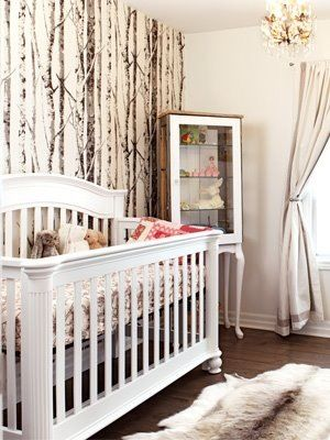 Nursery Wallpaper For A Forest Theme Baby Rooms Boy Babies