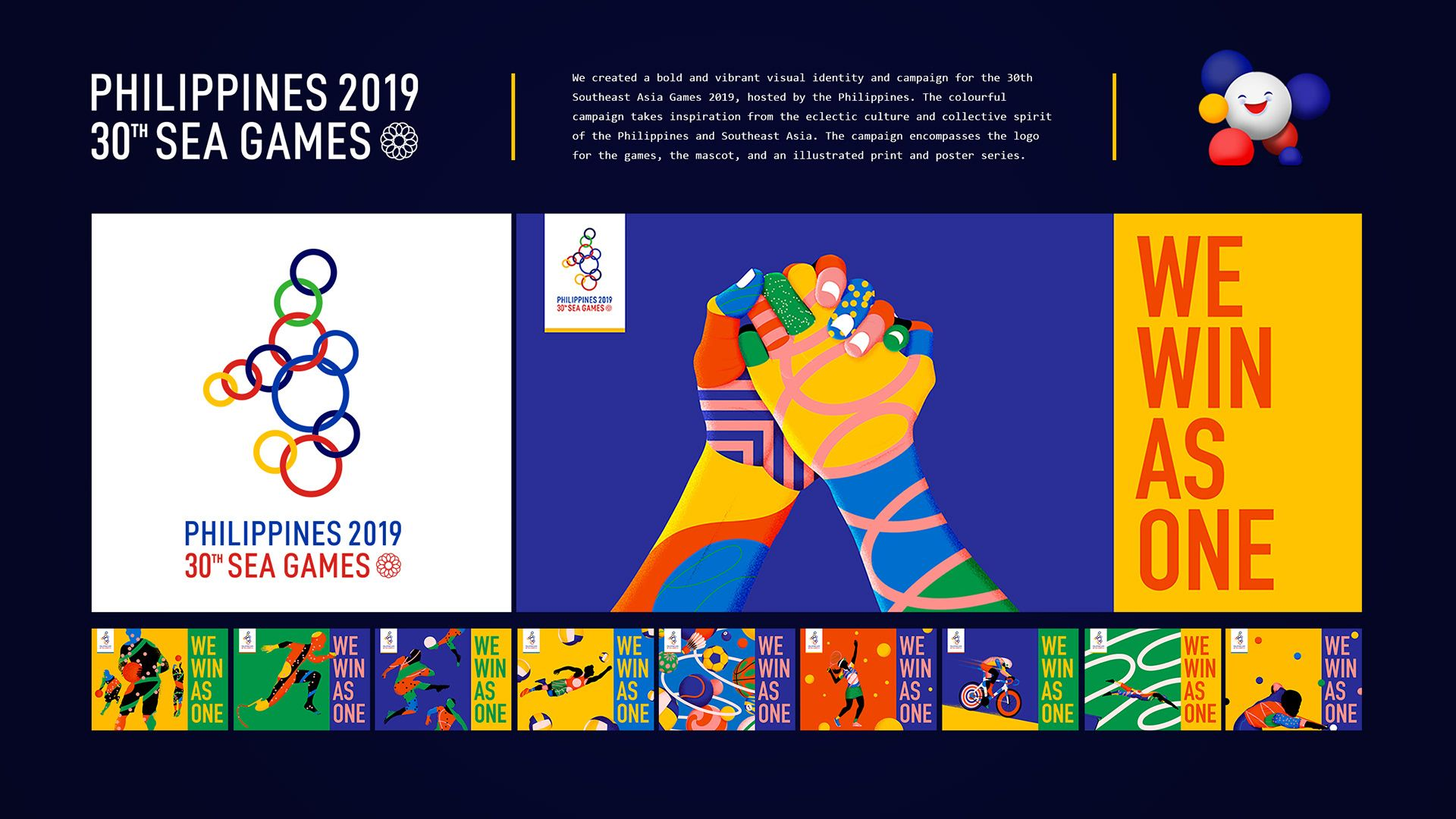 Philippines 2019 30th Southeast Asian Games On Behance In 2020 Asian Games Southeast Asian Southeast