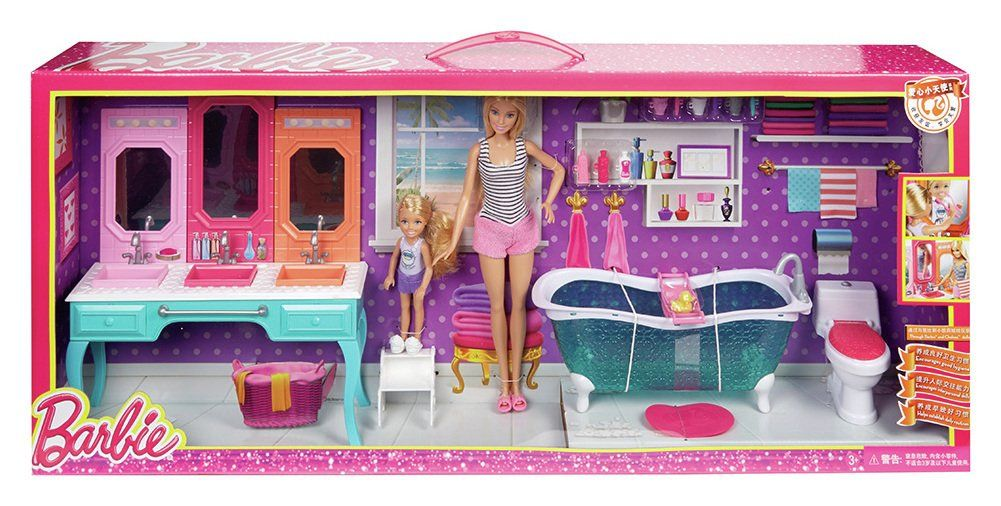 Chelsea Vanity Bathroom Toys