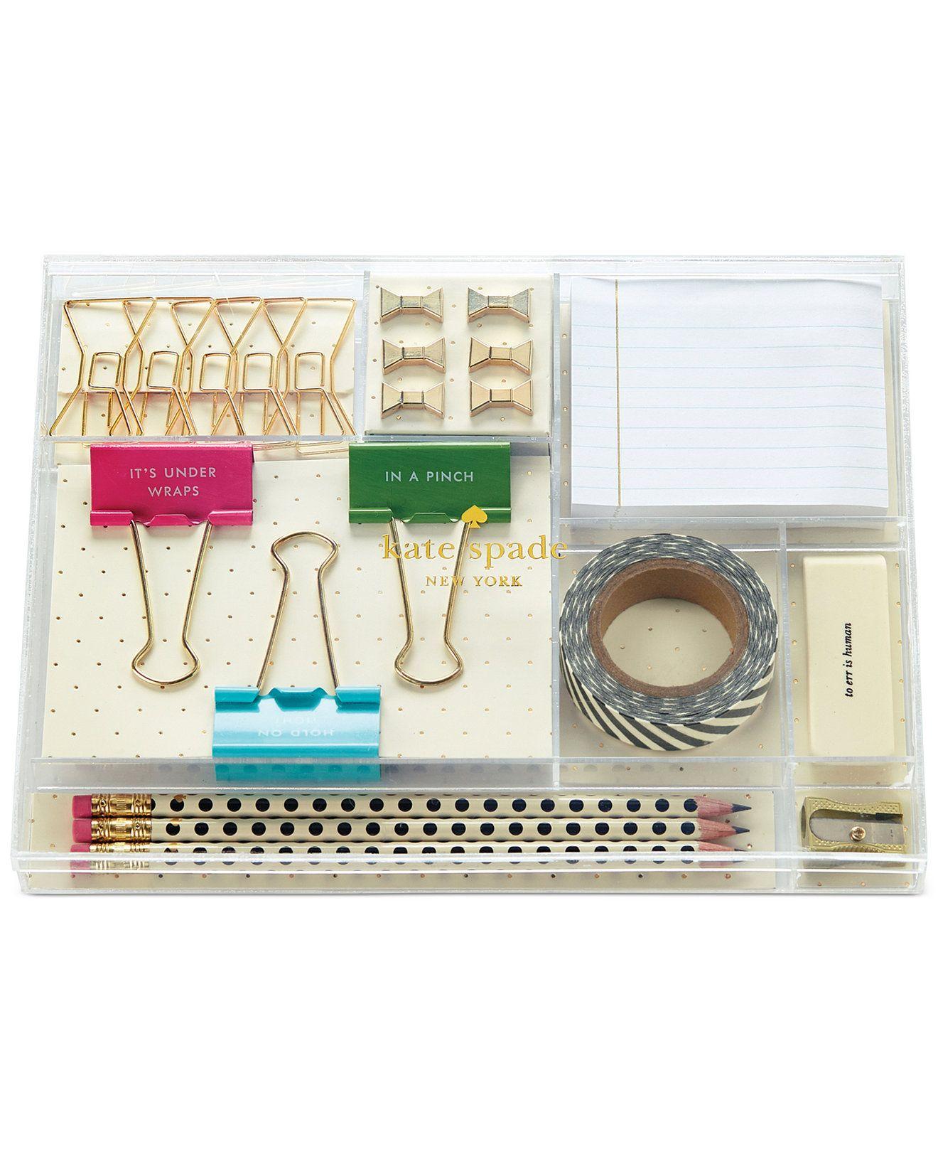 Good Kate Spade New York Tackle Box   Handbags U0026amp; Accessories   Macyu0027s Office  Accessories,