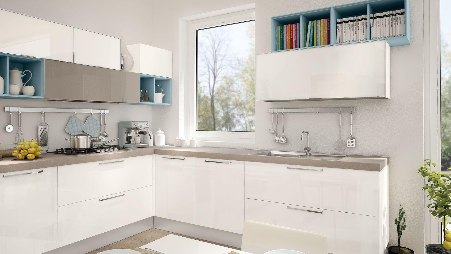 Noemi - Cucine Moderne - Cucine Lube | casa dolce casa | Pinterest
