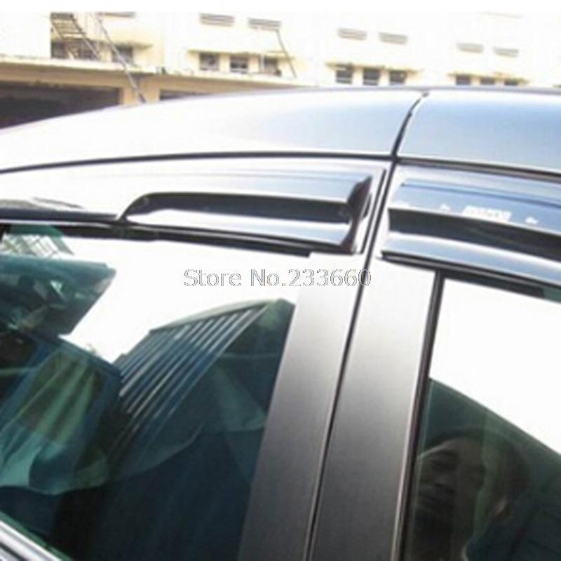 Fit for Hyundai New Santa Fe 2013-2015 Window Visor Vent Shades Sun ...