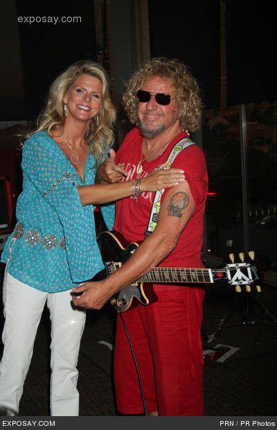 The Red Rocker med vänlig, Fru Kari Hagar