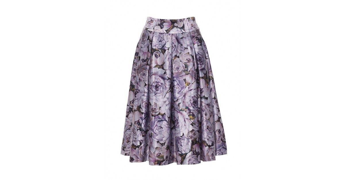 7990b7cfd Review Australia | Duchess Full Midi Skirt in Floral Multi A stunning, full midi  skirt featuring a hand painted floral print that's exclusive to Review, ...