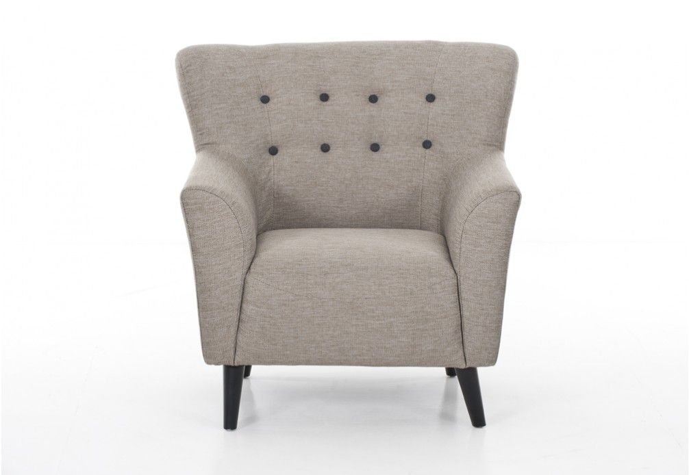 Country Fabric Accent Chair | Super Amart (With images ...