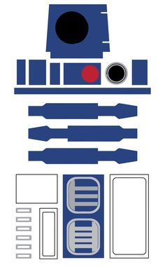 star wars r2 d2 favor bag printable starwars star wars kids rh pinterest com