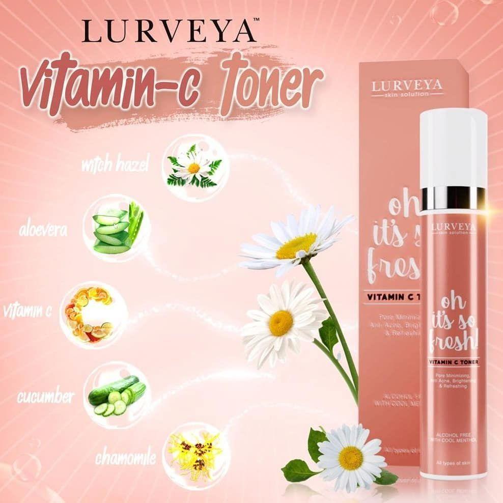 Lurveya Vitamin C Toner Secara Ringkasnya Lurveya Vitamin C