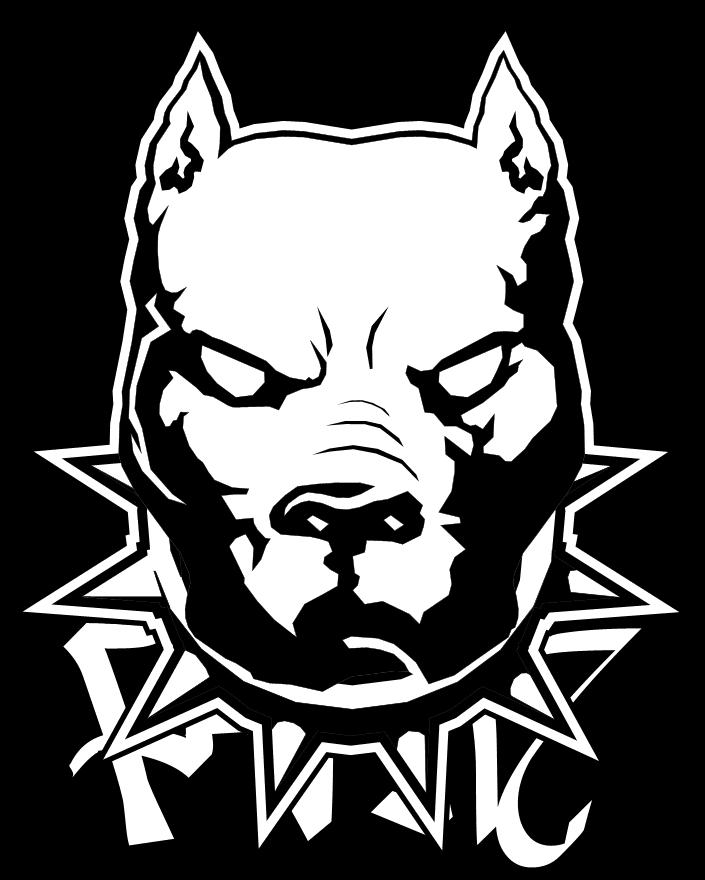 Pitbull By Painz Tatuajes De Pitbull Dibujos De Perros Dibujo