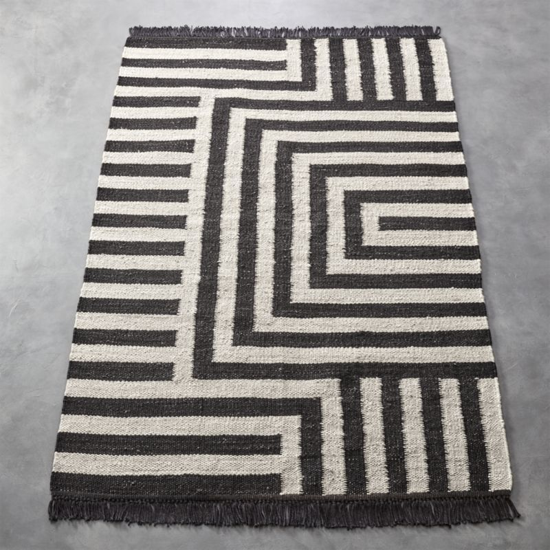 Shop Ways Jute Rug Traditional punja loom
