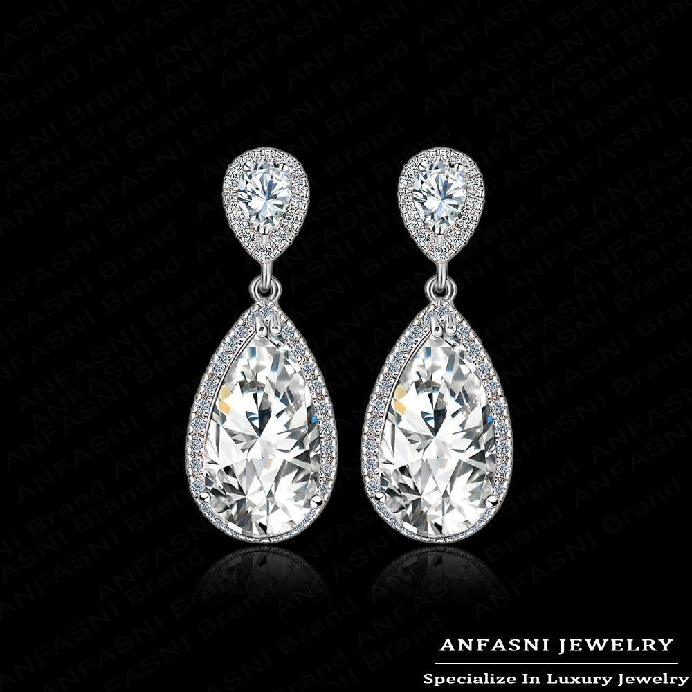 Cheap Diamond Bow Earrings, Buy Quality Diamond Crystal Earrings Directly  From China Diamond Pearl Drop