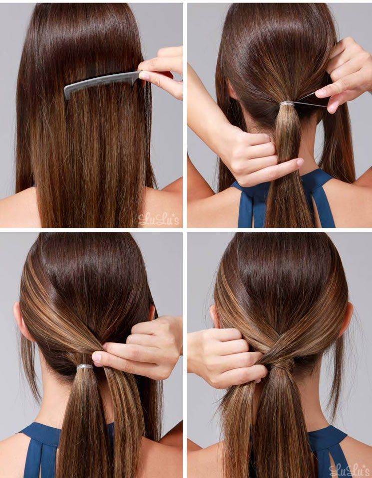 10 Simple And Easy Hairstyling Hacks For Those Lazy Days Page 2 Of 2 Cute Diy Projects Hair Hacks Hair Styles Party Hairstyles For Long Hair