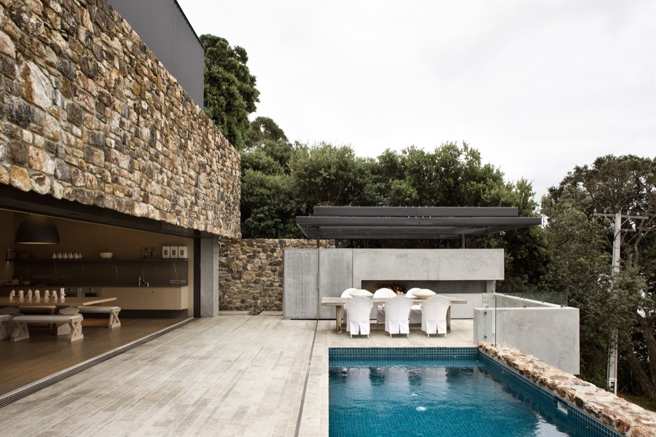 Local Rock House by Patterson Associates Waiheke