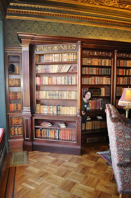 The Hidden Door in 2020 Home library design, Hidden