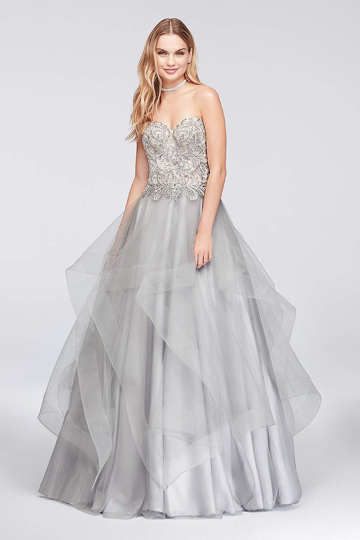 9ec27e5abbe6 View Long Glamour by Terani Dress at David's Bridal | Quinceanera ...