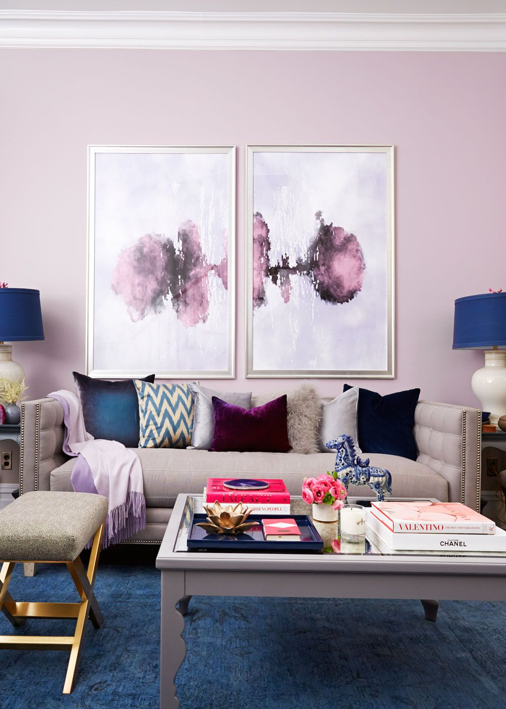 purple dream home decor rh pinterest com