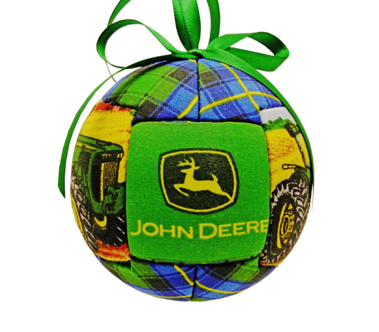 John Deere Kimekomi Quilted Holiday Christmas by craftcrazy4u ...