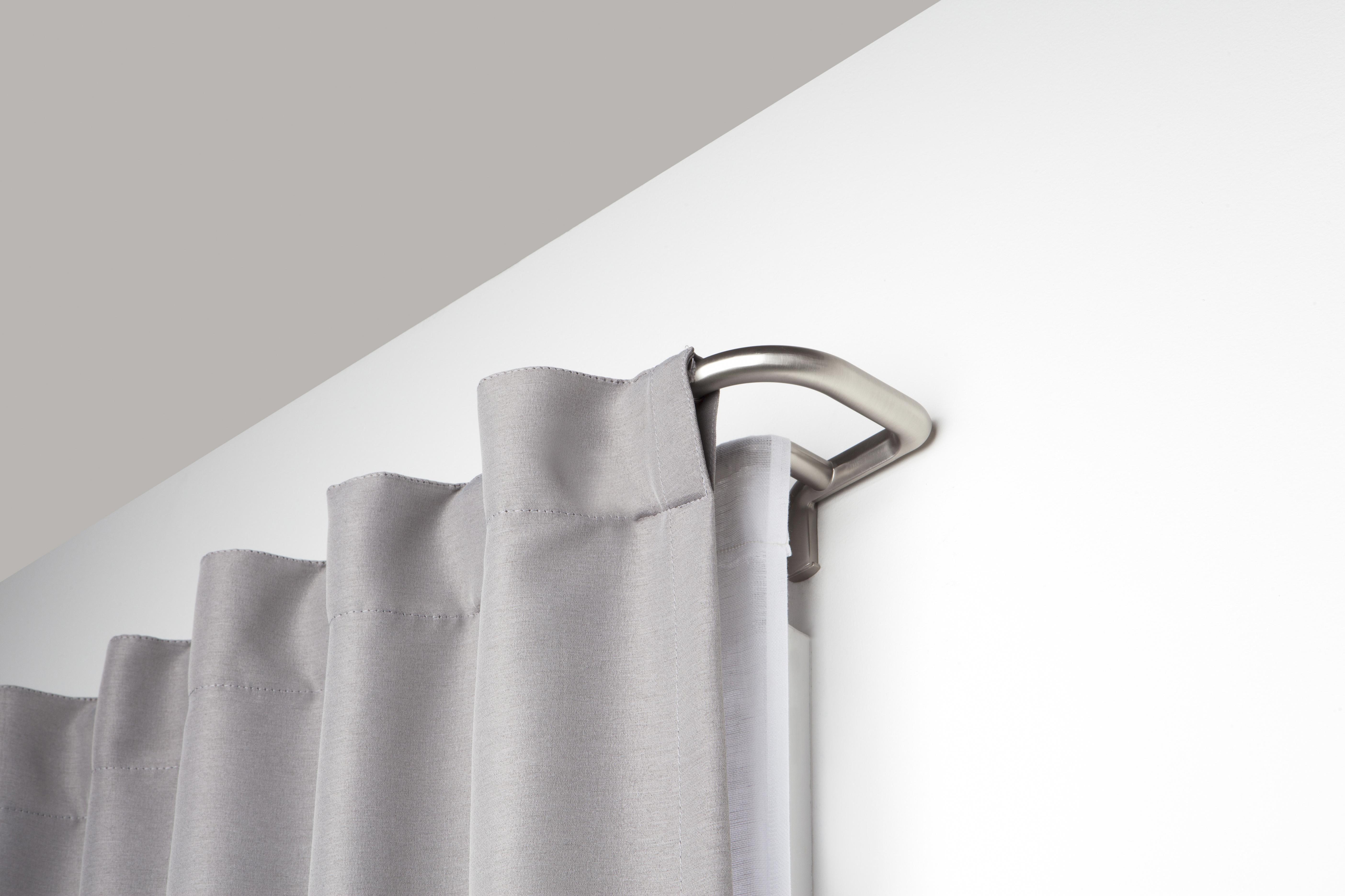 Umbra Twilight Double Curtain Rod Set A Wrap Around Design Is