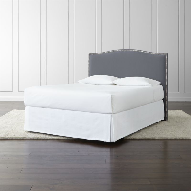 Colette Upholstered Queen Headboard Crate and