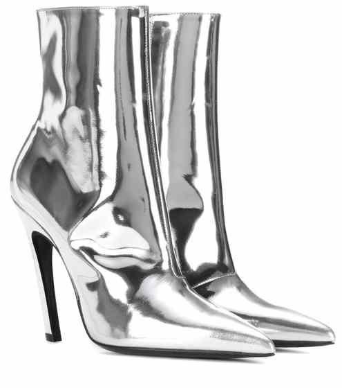 Black Slash Heel Boots Balenciaga YehqGXH0