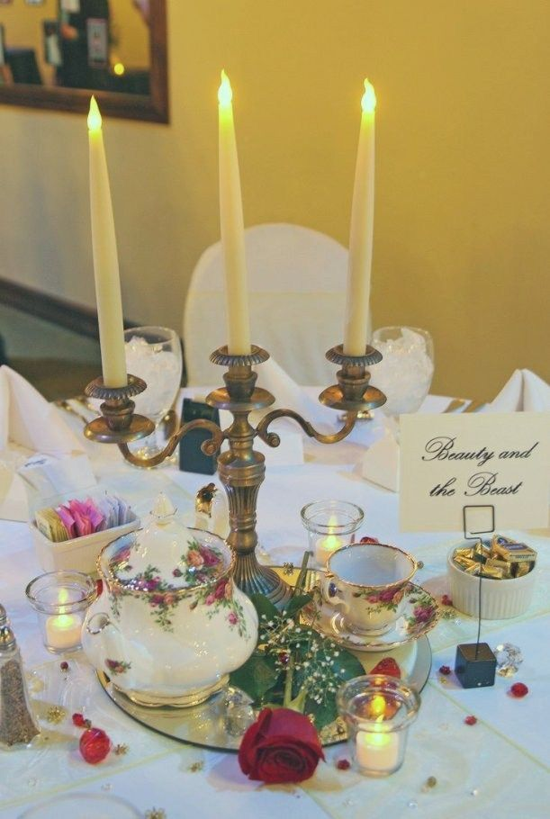 Beauty And The Beast Wedding Decorations