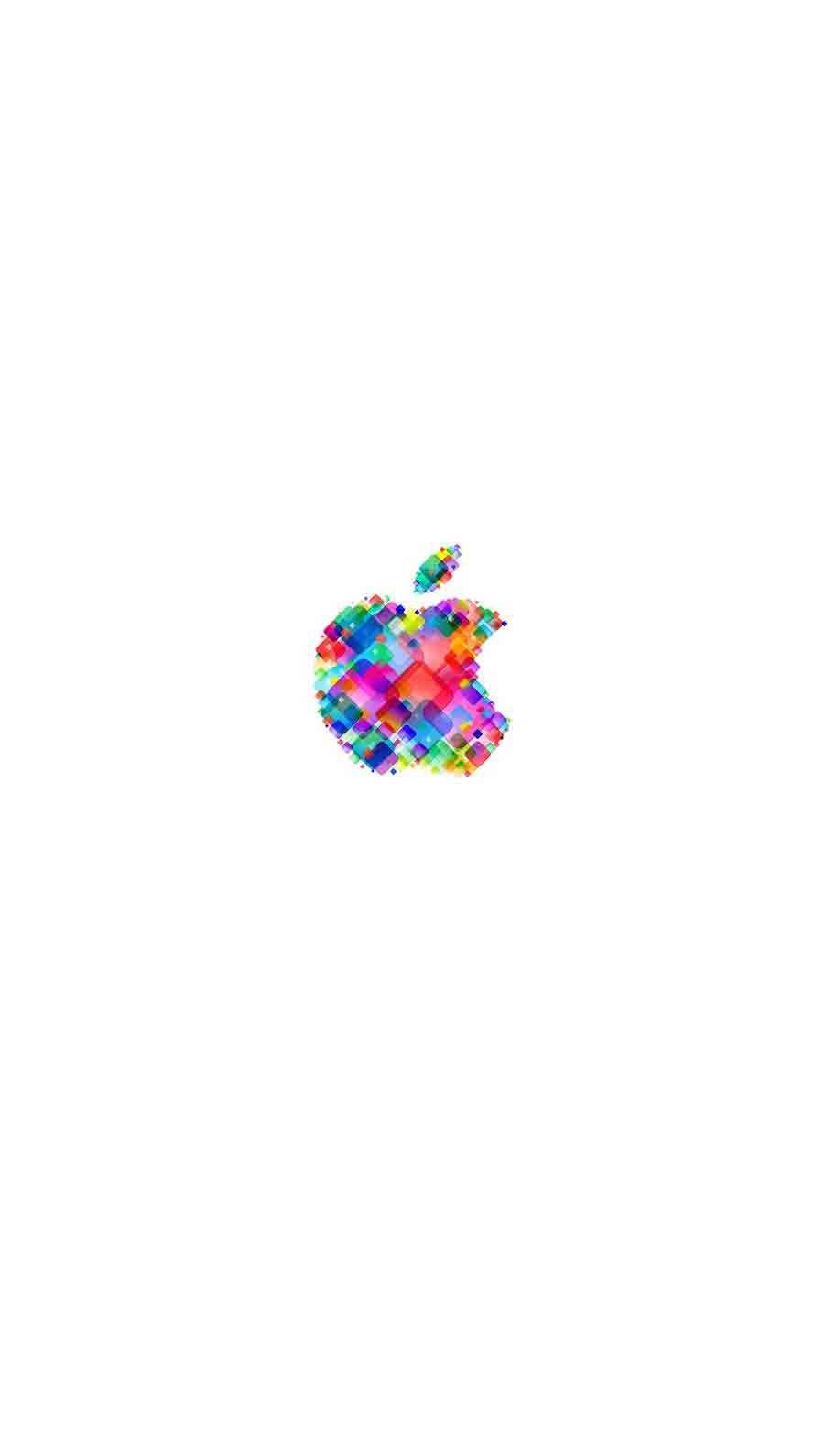 Iphone 6s Wallpaper White Logo Apple Fond D Ecran Blanc Objek Gambar Kertas Dinding Kertas Dinding Lucu
