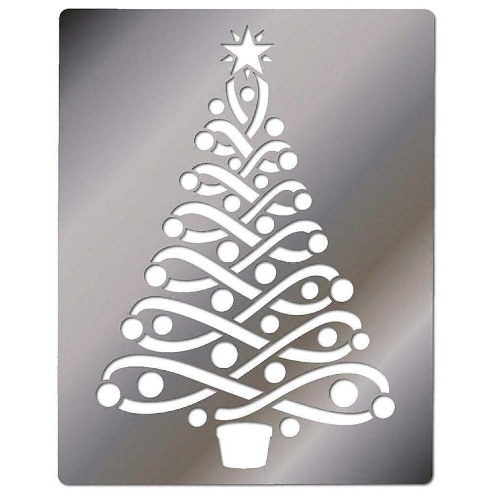 Xmas Tree Stencils Hd Christmas Stencils Christmas Tree Stencil Tree Stencil