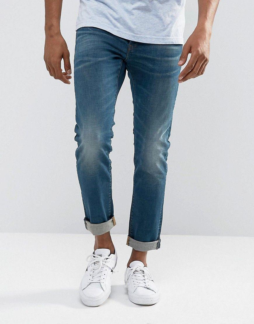 de9e9df9696 G-Star 3301 Slim Medium Aged Wash Jean   Products   Slim jeans ...
